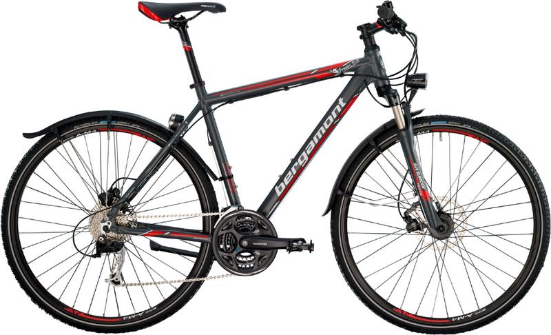 Велосипед Bergamont Helix 5.4 EQ Gent 2014