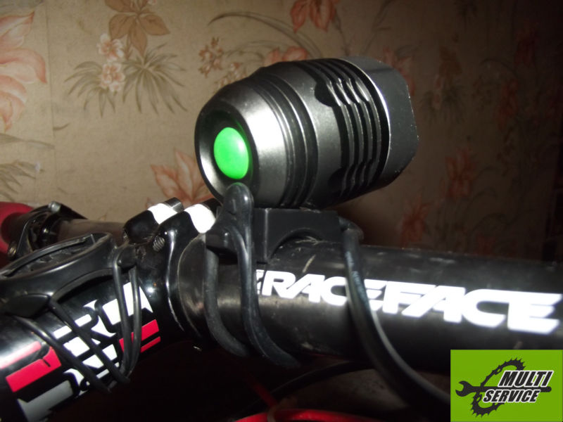 Велосипедная фара BicycleLight Cree-XML T6 1000Lm