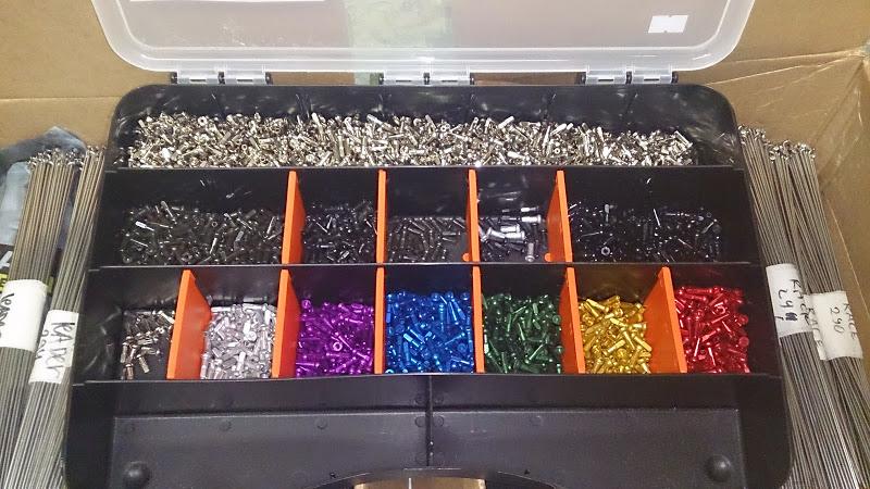 Ниппеля алюминиевые цветные Sapim Polyax - Сервис MULTI