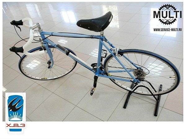 Восстановление велосипедов ХВЗ в MULTI: нет ничего невозможного!
