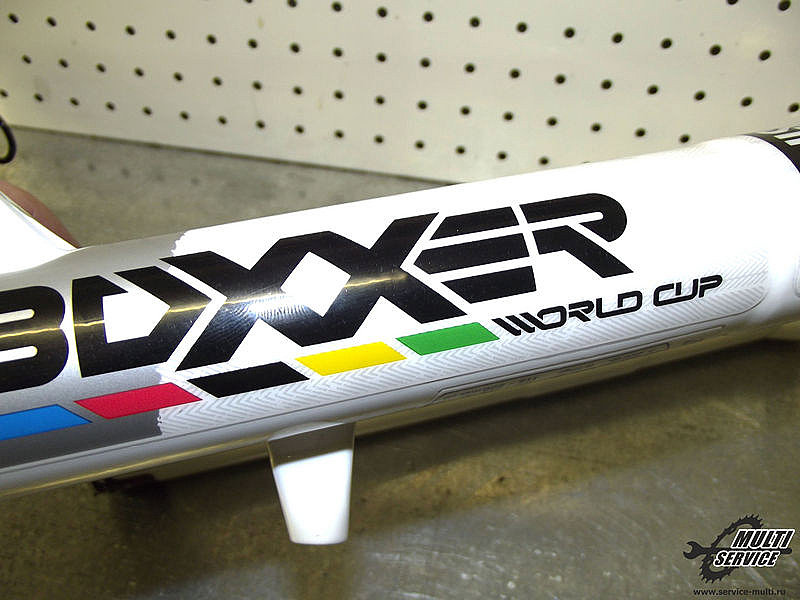 Переборка вилки на примере RockShox Boxxer WorldCup!