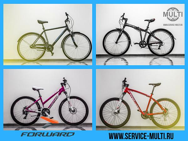 Коллекция велосипедов Forward 2016 и 2017 года - надёжно и недорого!