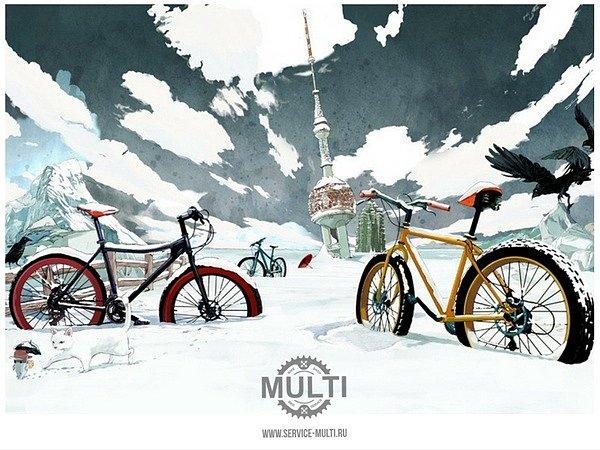 Подготовка велосипеда к зимнему катанию: просто сделай шаг!