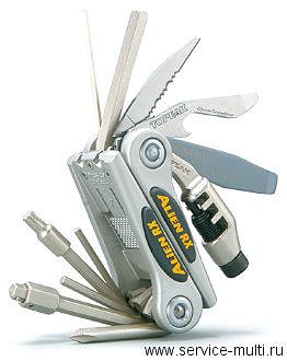 Topeak Alien RX 16 tools