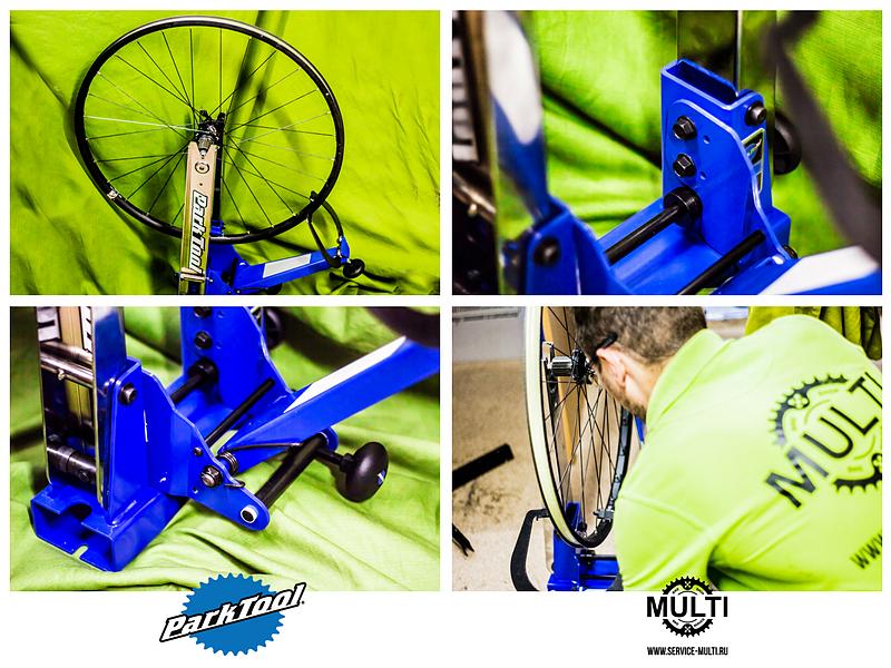 Новый станок ParkTool TS-4 - новые возможности для сборки быстрых и крепких колес!