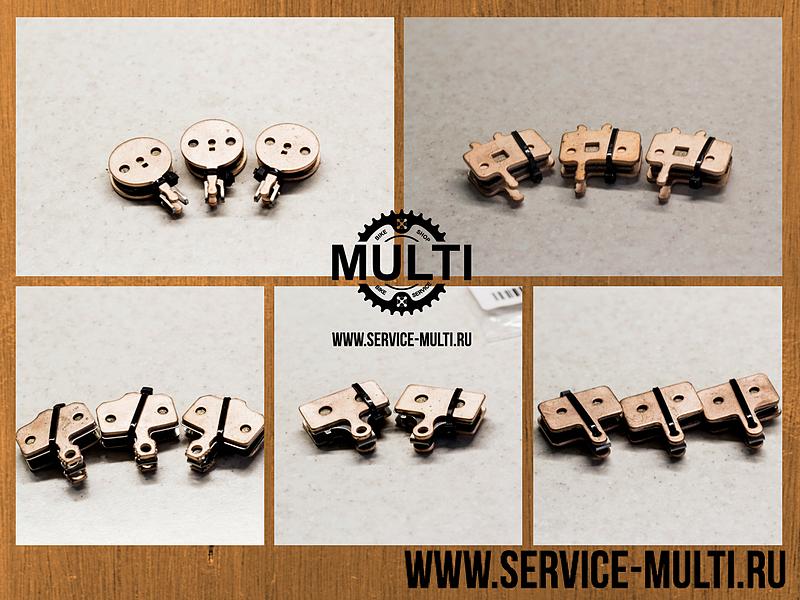 Пять самых популярных моделей тормозных колодок в магазине MULTI в наличии!