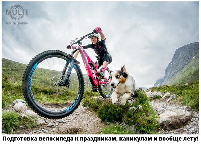 Подготовка велосипеда к праздникам, каникулам и вообще лету!