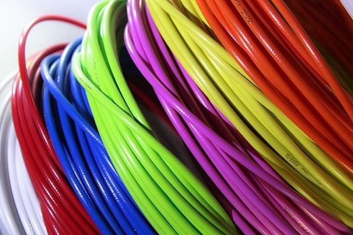 Гидролиния усиленная цветная