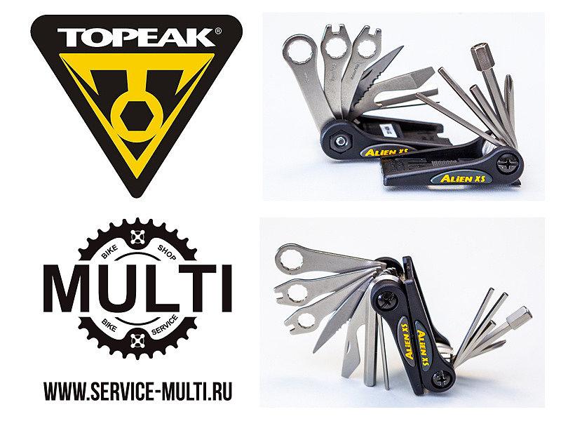 Инструмент мультитул Topeak ALiEN™ XS 16 Tools 170 g