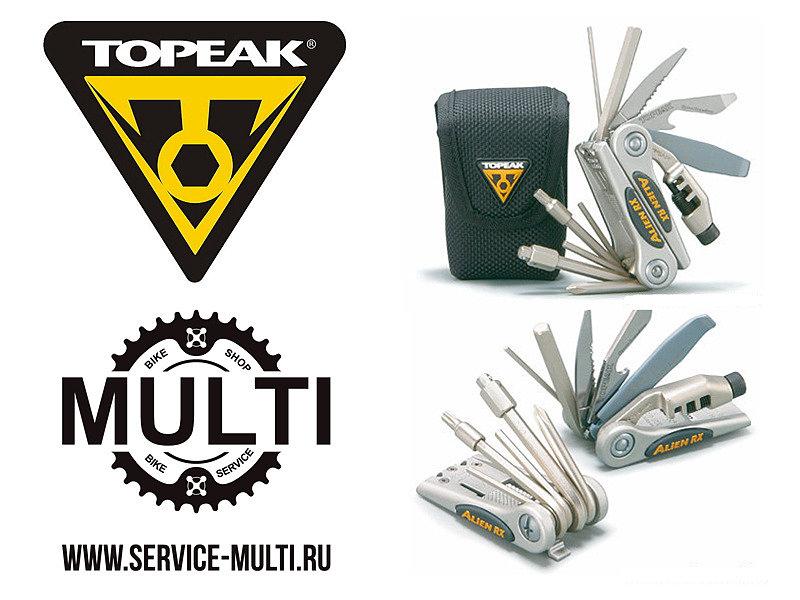 Инструмент мультитул Topeak ALiEN™ RX 16 Tools 175 g