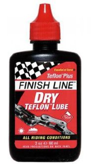 Смазка цепи Finish Line Teflon Plus Dry Отличная смазка для сухих условий, с Тефлоном.