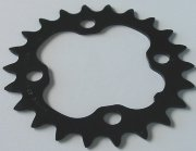 Chainring Shimano SG-X M9 22T AA/AC BCD 64mm Black