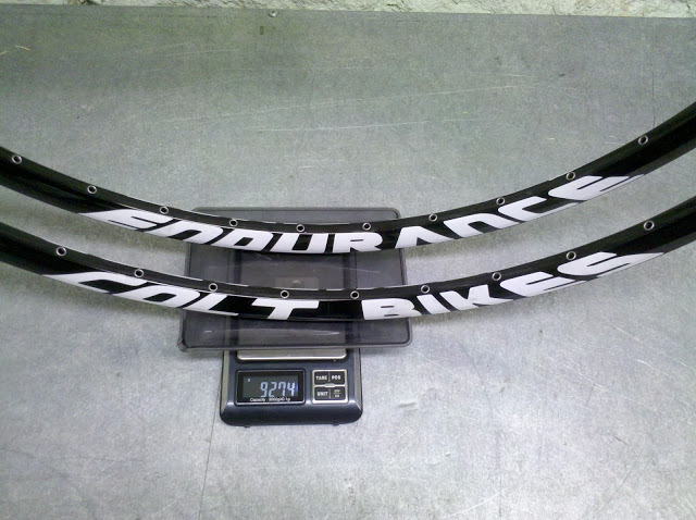 Вес ободов Colt Endurance 29er black-white