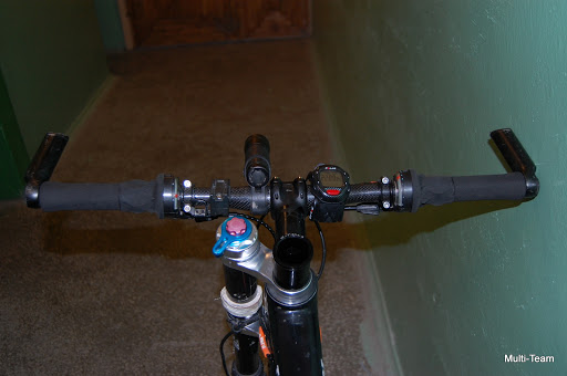 Cannondale Carbon Taurine Custom bar view