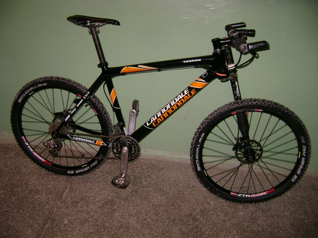 Cannondale Taurine Custom + Lefty Speed Carbon